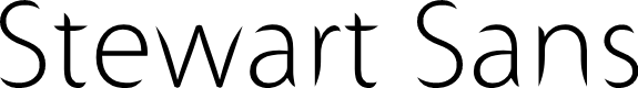 Preview image for Stewart Sans Font