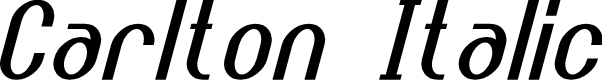 Preview image for Carlton Italic