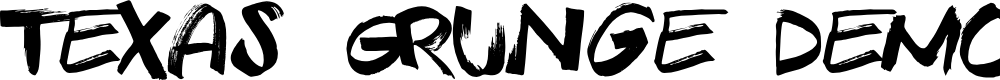 Preview image for Texas Grunge Demo Font