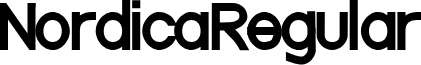 NordicaRegular
