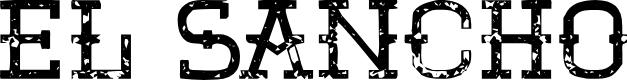 Preview image for El Sancho Font