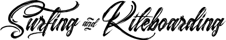 Preview image for Surfing & Kiteboarding  Font