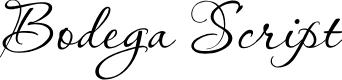 Preview image for Bodega Script Font