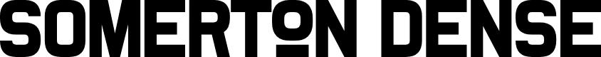 Preview image for Somerton Dense Font