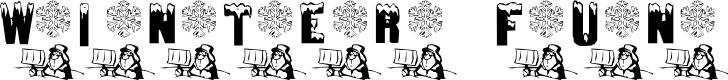 Preview image for Winter Fun Font