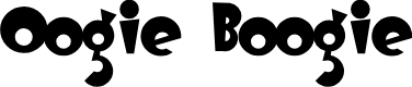 Preview image for OogieBoogie Font