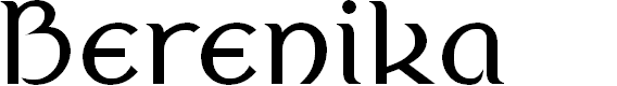 Preview image for Berenika Font