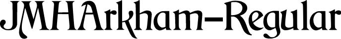 Preview image for JMHArkham-Regular