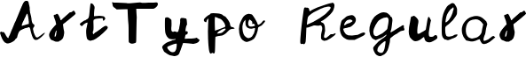 ArtTypo Regular