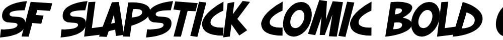 Preview image for SF Slapstick Comic Bold Oblique