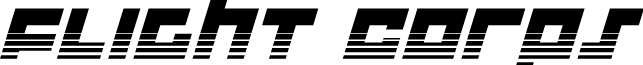 Flight Corps Halftone Italic
