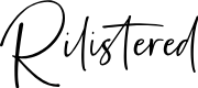 Preview image for Rilistered Font