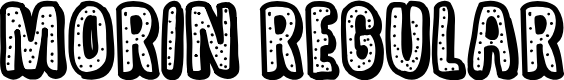 Preview image for MORIN Regular Font