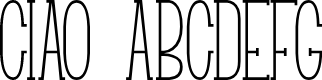 Preview image for Ciao Font