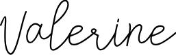 Preview image for Valerine Font