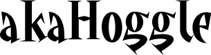 Preview image for akaHoggle Font
