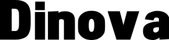 Preview image for Dinova Black Font