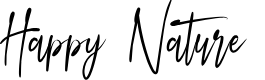 Preview image for Happy Nature Font