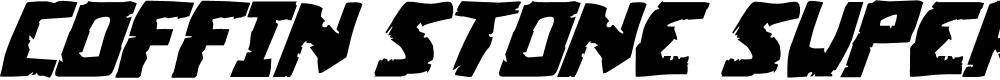 Preview image for Coffin Stone Super-Italic