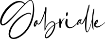 Preview image for Gabrialle Font