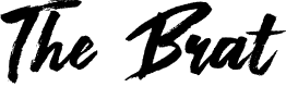 Preview image for The Brat Font