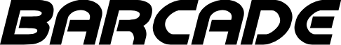 Barcade No Bar Bold Italic