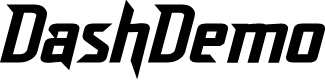 Preview image for DashDemo Font