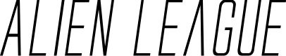 Preview image for Alien League II Italic