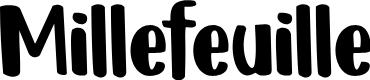 Preview image for DK Millefeuille Regular Font