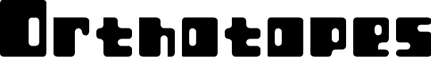 Preview image for Orthotopes Font