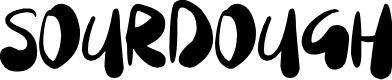 Preview image for Sourdough Font