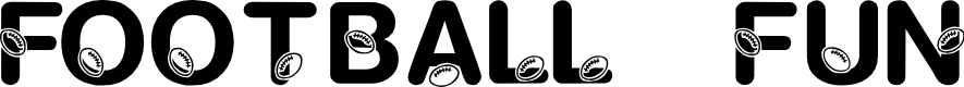 Preview image for KR Football Fun Font
