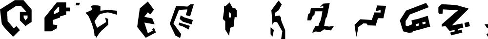 Preview image for Decepticon Graffiti Font