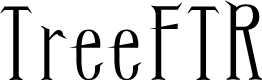 Preview image for TreeFTR Font