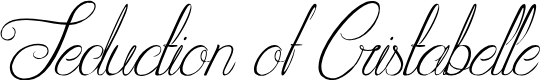 Preview image for Seduction of Cristabelle Font
