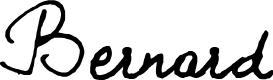 Preview image for BERNARD Font