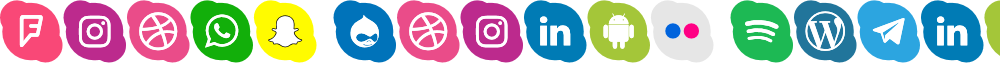 Icons Social Media 17
