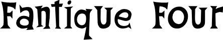 Preview image for Fantique Four Font