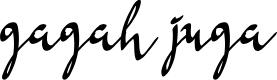 Preview image for Gagah Juga Font