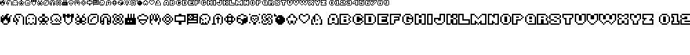 Preview image for BITSY Font