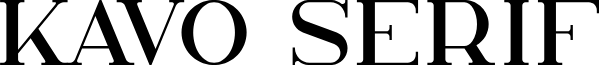 Kavo Serif
