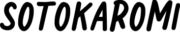 Sotokaromi Bold