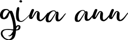 Preview image for Gina Ann Font