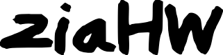Preview image for ziaHW Font