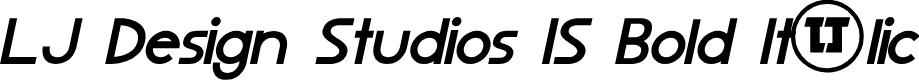 Preview image for LJ Design Studios IS Bold Italic