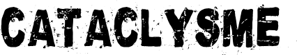 Preview image for Cataclysme Regular Font