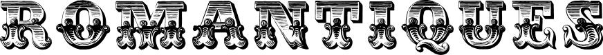 Preview image for Romantiques Font