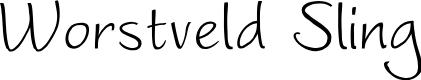 Preview image for Worstveld Sling Font