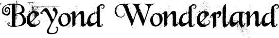 Preview image for Beyond Wonderland Font