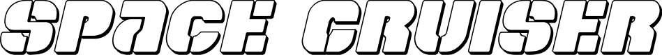 Preview image for Space Cruiser 3D Italic